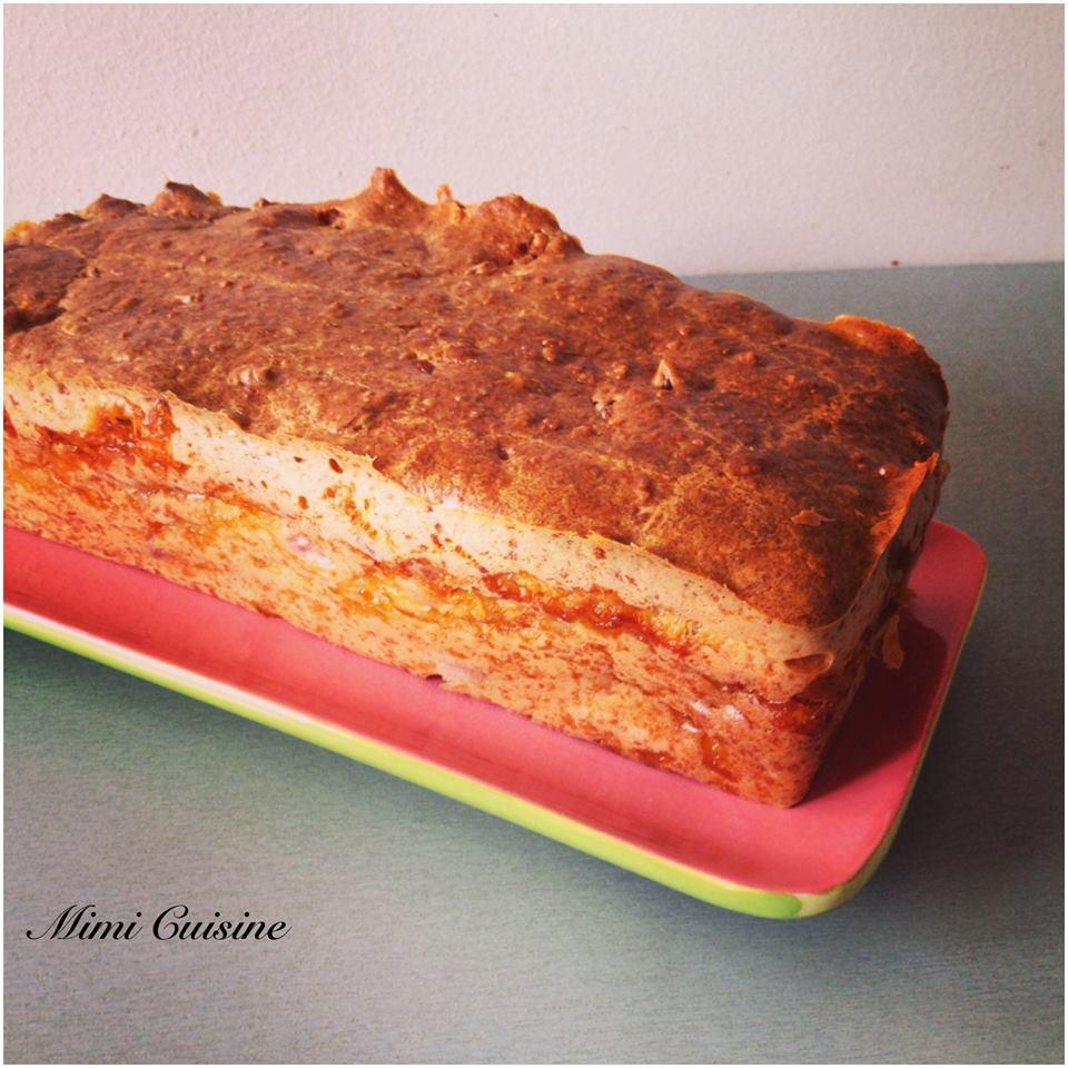 cake à la saucisse de Morteau et au Livarot
