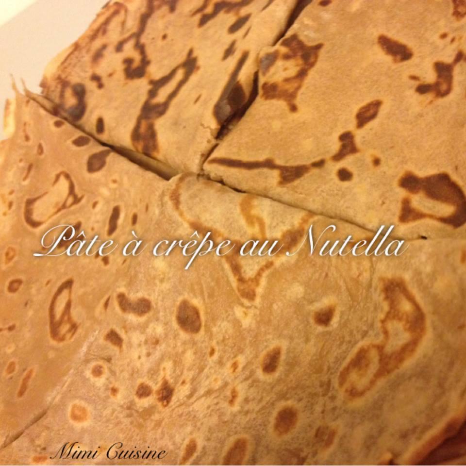 Pâte à crêpes au Nutella