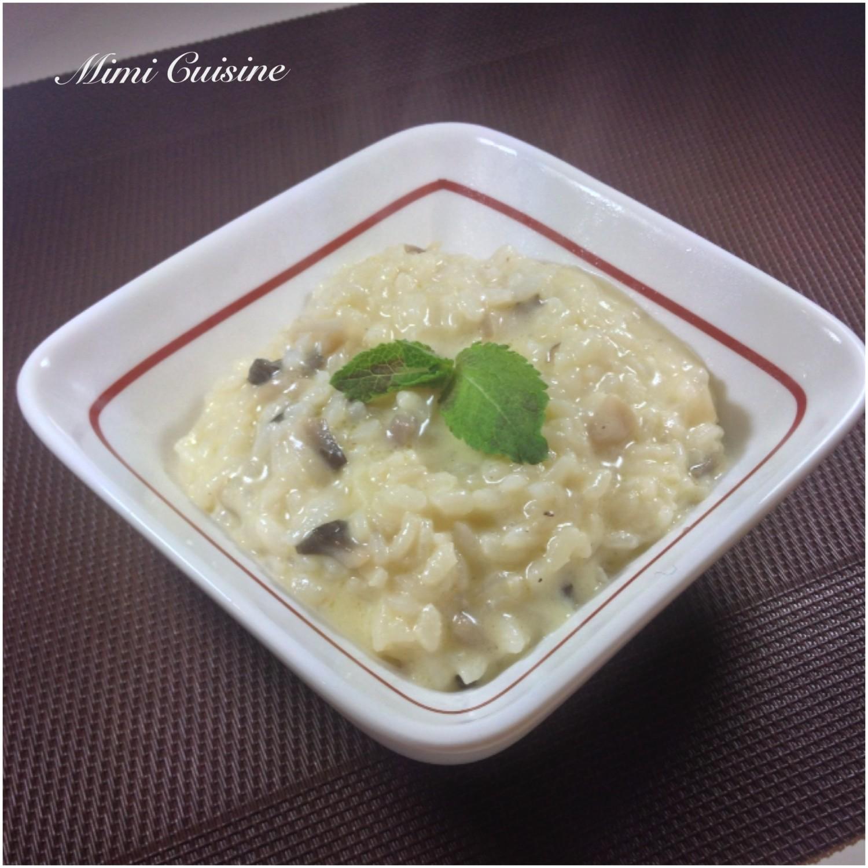risotto de champignons 3